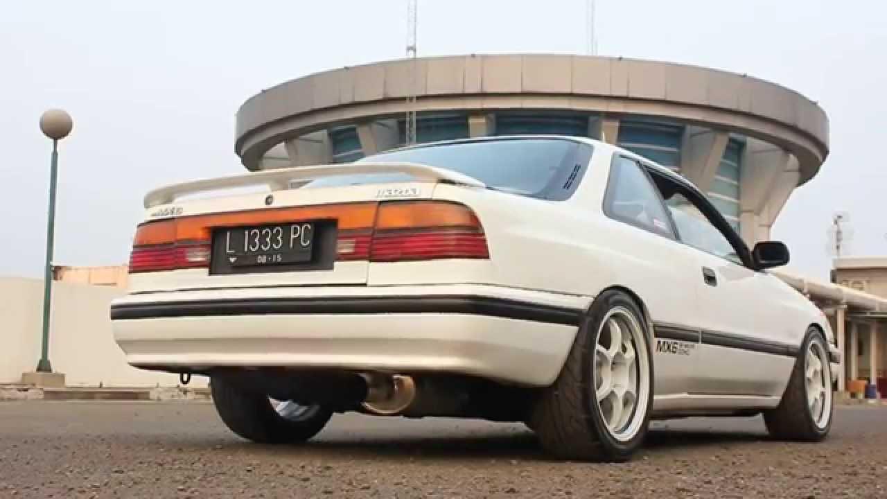 Ironcraft Performance Exhaust On Mazda Mx6 1989 Youtube