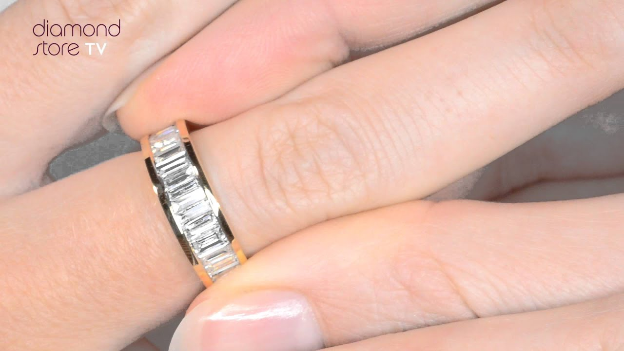 band inc rings a products diamond j baguette wedding