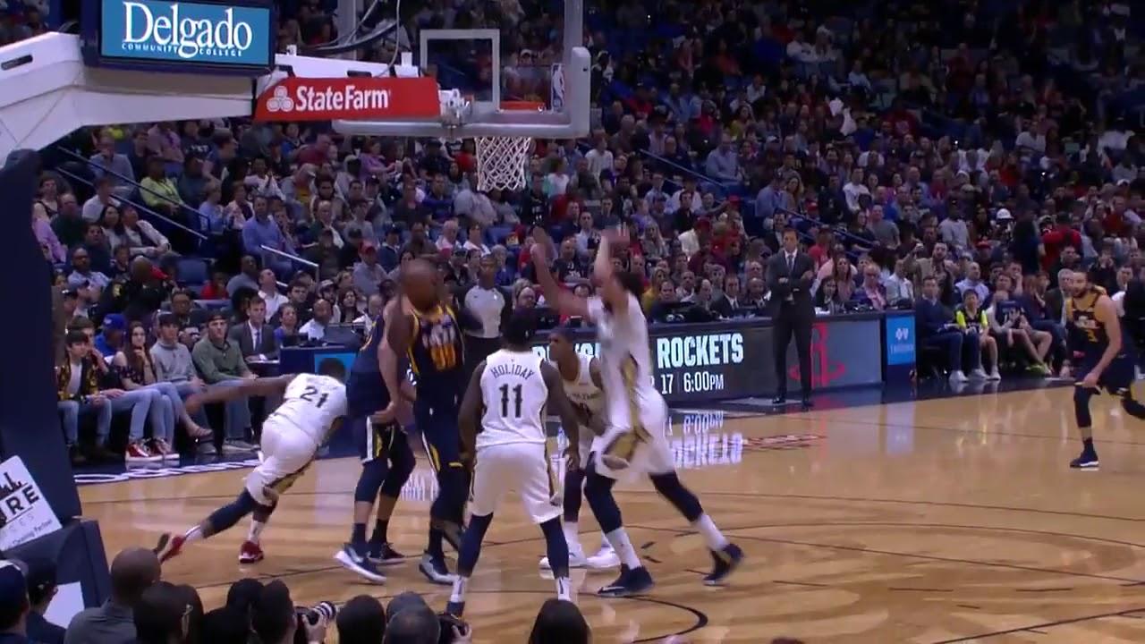 Anthony Davis Posts 25 points 10 blocks and 11 rebounds vs  Utah Jazz