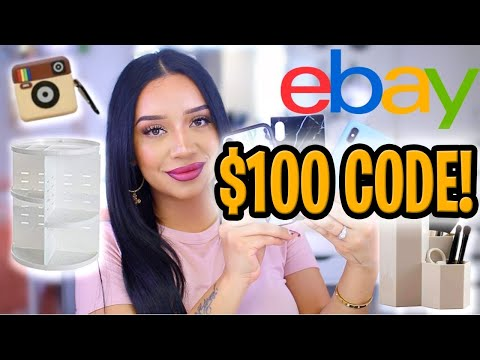 FREE eBay Discount Code 2020 🛍️  Easiest REAL Method To Save $100 On Next eBay Shop Working 2020! 🛍️