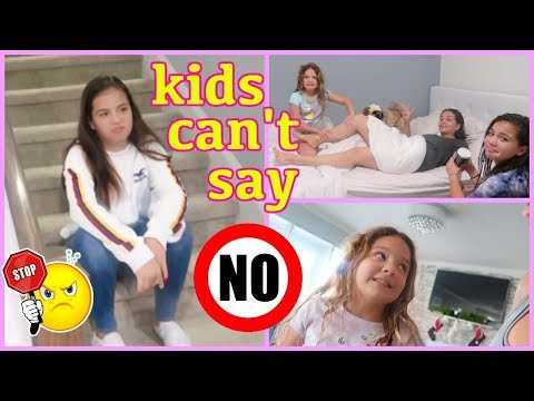 KIDS CAN'T SAY NO !!! FOR 24 HOURS | MOM IS IN CHARGE | SISTER FOREVER