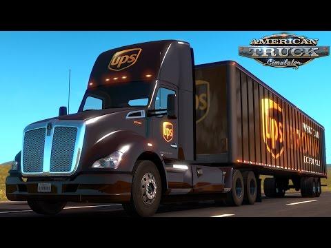American Truck Simulator: UPS - Omaha NE To Kansas City MO