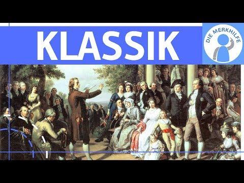 Klassik - Literaturepoche einfach erklärt - Merkmale, Literatur, Geschichte, Vertreter