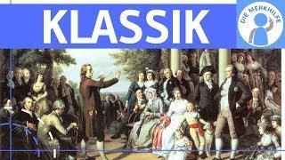 Klassik – Literaturepoche einfach erklärt – Merkmale, Literatur, Geschichte, Vertreter