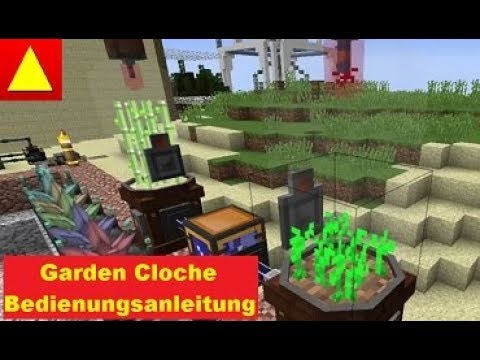 garden cloche von immersive engineering mit sink und fertilizer tutorial ger youtube