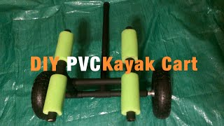 Homemade Pvc Kayak Cart