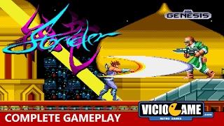 🎮 Strider (Mega Drive) Complete Gameplay