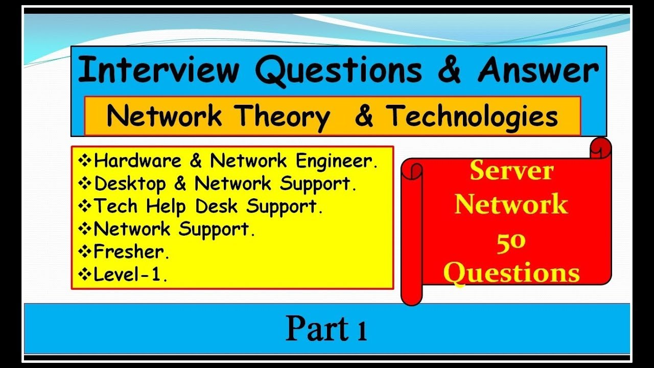 questions and answers on networking Here are 20 most important cyber security interview questions and answers continuing with the network-based discussion.