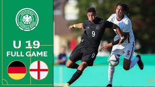 Germany vs England 1 1 Full Game U 19 Friendly