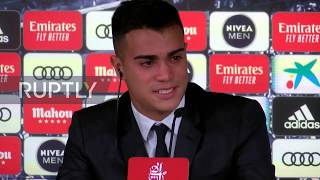 Subscribe to our channel! rupt.ly/subscribespain's real madrid club presented reinier jesus carvalho, better known simply as reinier, their newest additio...