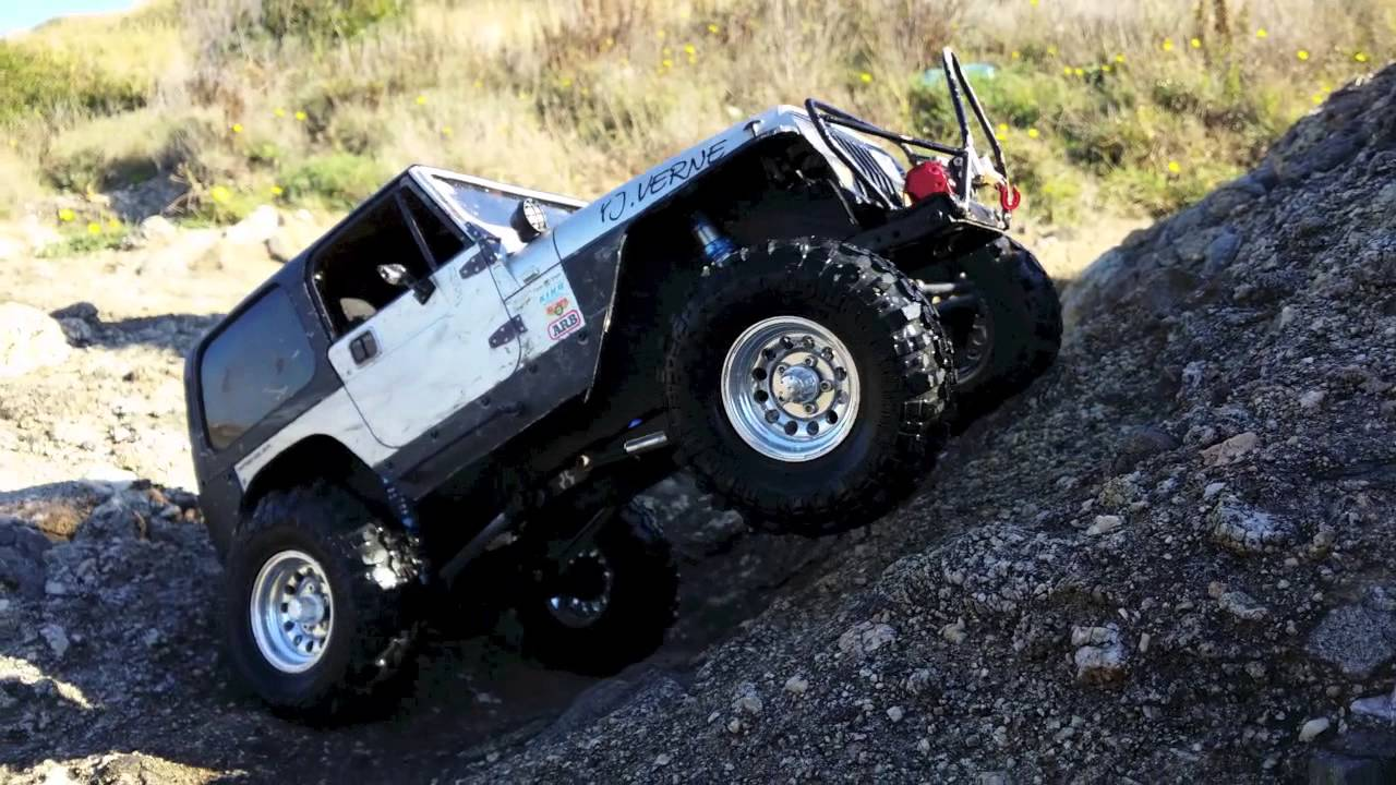 Tamiya Rc Rock Crawler Youtube |