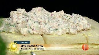 Smörgåstårtan gör comeback - Nyhetsmorgon (TV4)