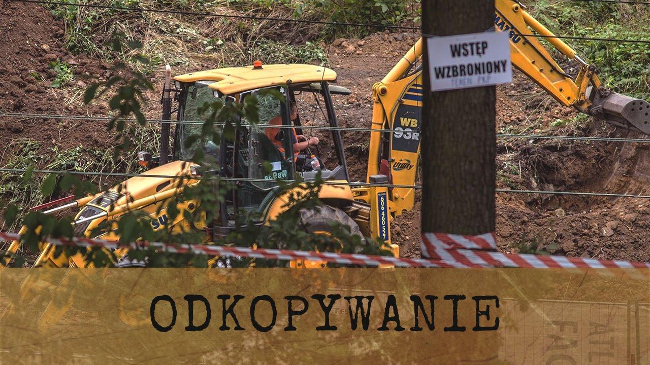 Odkopywanie Złotego Pociągu w Wałbrzychu i ciężarówek w Kamiennej Górze