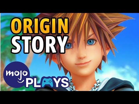Origin Story of Kingdom Hearts' Sora!