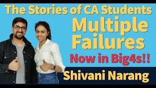 The Stories of CA Students | Ft. Shivani Narang Recently Selected in KPMG
