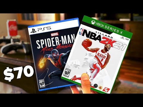 Why PS5 & Xbox Series X games could cost $70! 😲💸