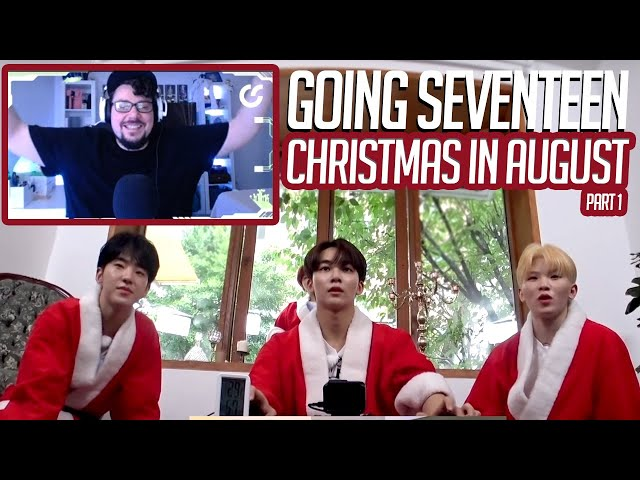 Mikey Reacts to GOING SEVENTEEN 2020 Christmas in August #1