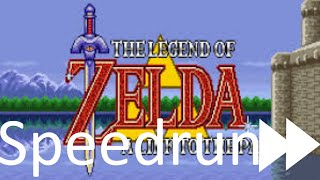 A link to the past speedrun trick