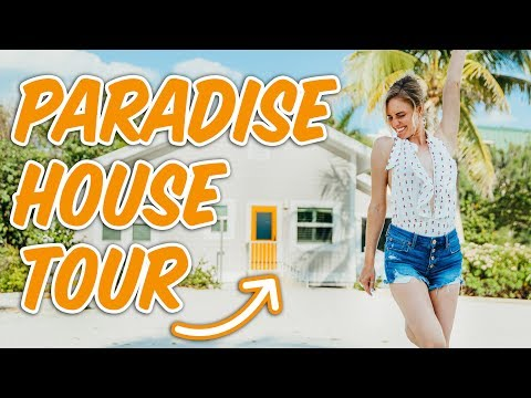 PARADISE BEACH HOUSE TOUR! (Today Gets Emotional)