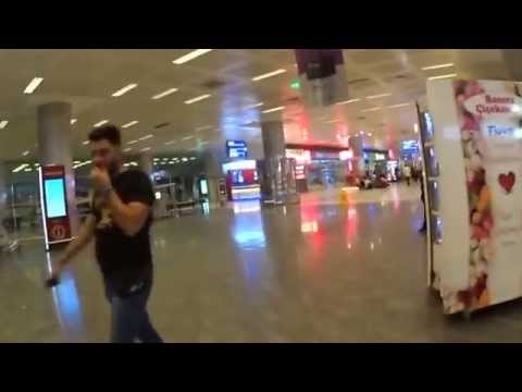 Istanbul Atatürk Airport how to go to Istanbul city (イスタンブール空港の駅への行き方