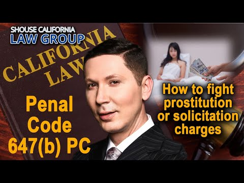 Accused of prostitution or solicitation? How to fight the case