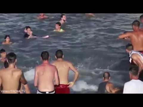 Đấu bò tót dưới nước_Tây Ban Nha