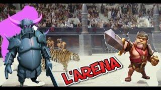 CLASH OF CLANS : sfida nell' Arena