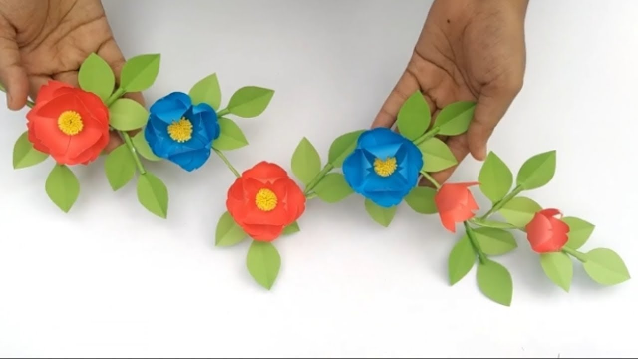Paper Craft For Home Decoration | Wall Hanging Craft Ideas | Paper Craft Wall Hanging | Paper Craft