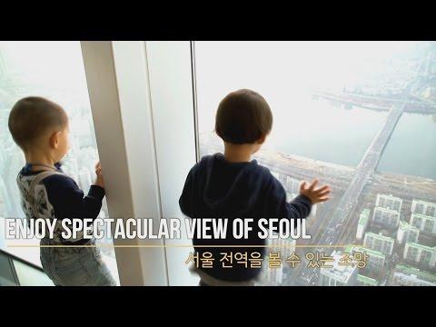 롯데월드타워 전망대, 스카이워크 최초 내부 공개 (Lotte World Tower observation deck, skywalk)