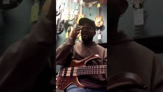 Ibanez BTB745 NTL 5String Bass