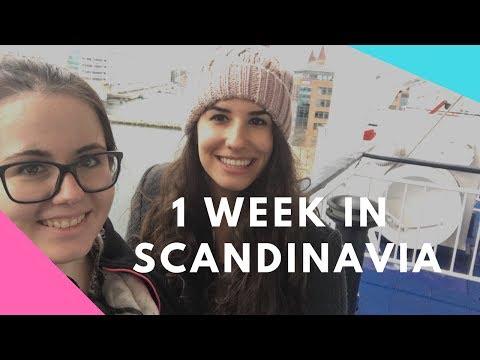2 GIRLS IN SCANDINAVIA | TRAVEL VLOG - DENMARK, SWEDEN, NORWAY