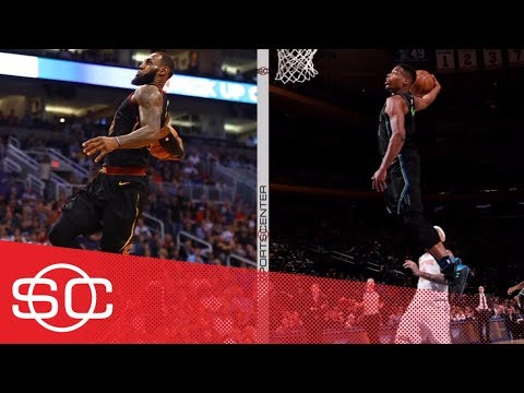 LeBron James or Dennis Smith Jr.: Whose windmill was better? | SportsCenter | ESPN