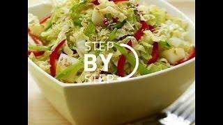 Asian Slaw Recipe, Recipe For Asian Slaw, Napa Cabbage Slaw, Napa Cabbage Slaw Recipe