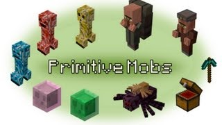 Обзор мода minecraft Элементарные мобы (PRIMITIVE MOBS) № 17