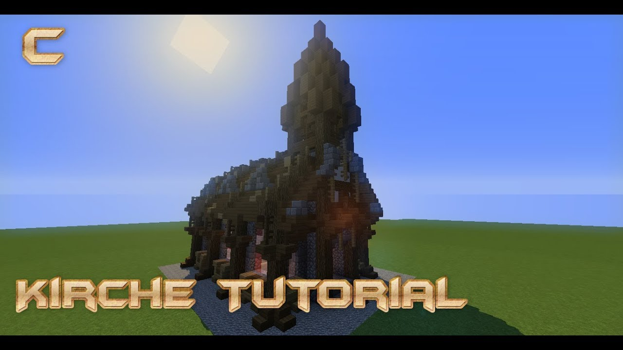 Minecraft Tutorial Kirche Bauen Youtube