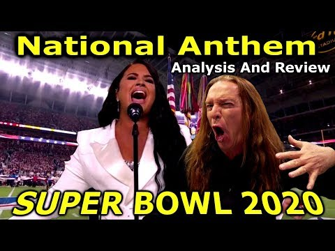 DEMI LOVATO NATIONAL ANTHEM SUPER BOWL 2020 ANALYSIS AND REVIEW - KEN TAMPLIN VOCAL ACADEMY