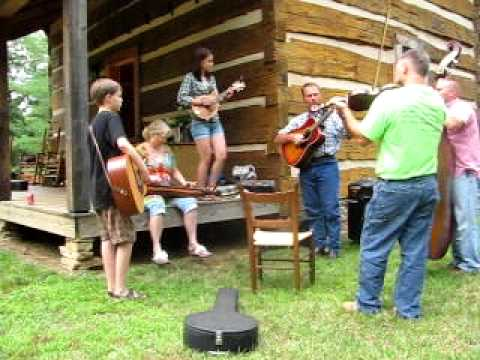 Wildwood Cabin Porch Pickin' 2011 - Ole Joe Clark