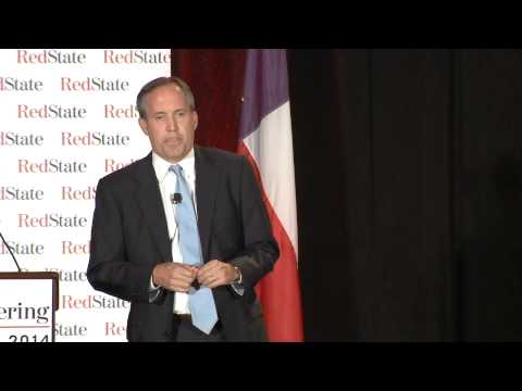 Ken Paxton at the 2014 RedState Gathering#RSG14