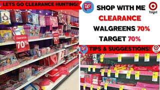 Insane Walgreens, Cvs Target 70% Off Clearance~shop With Me 🛒 Clearance Secrets Revealed🛒 ♥️