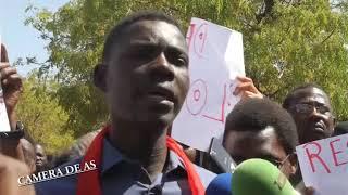 CAMERA DE AS : Le ministre de l'éducation nationale huée par les étudiants a Limamou Laye