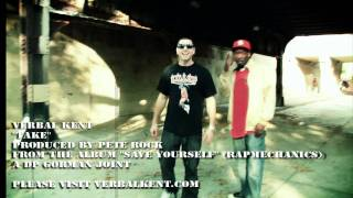 "Verbal Kent ""TAKE"" produced by PETE ROCK (Official video)"