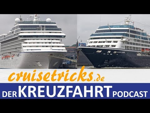 "Oceanias ""Marina"" vs. ""Azamara Journey"" - cruisetricks.de Kreuzfahrt-Podcast"