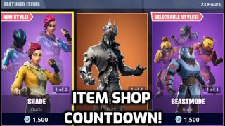 Fortnite Maverick And Shade Skins Return With Styles! (Item Shop Countdown Live)