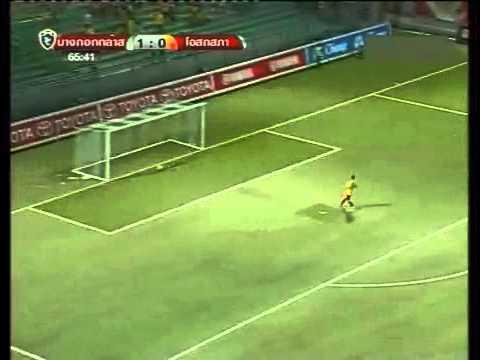 ดูบอลสด ไฮไลท์ฟุตบอลไทยพรีเมียร์ลีก 2013 บางกอกกล๊าส เอฟซี 3 - 0 โอสถสภา เอ็ม150