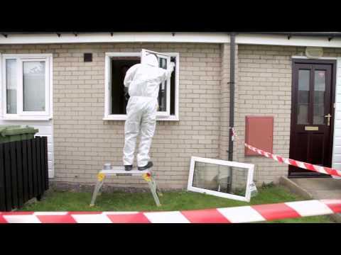 Removing Asbestos at Yorkshire Housing: Rhodar Homeworks Service