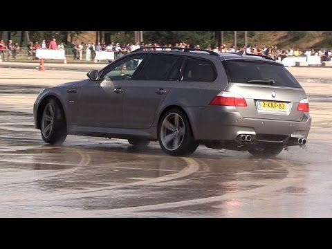 BMW M5 V10 E61 - DRIFTING!