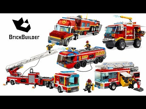 Top 5 LEGO City Fire Truck - Lego Speed Build