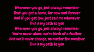 Cher Lloyd - Oath Featuring. Becky G (Lyrics HD)