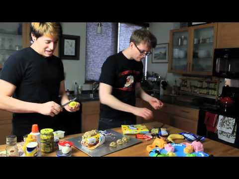 Disgusting Cookies - The 2012 Hungry Games