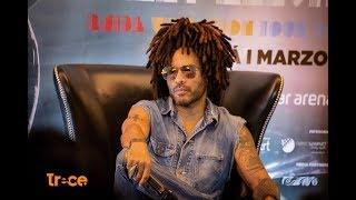 Lenny Kravitz habló de su concierto en Colombia Video